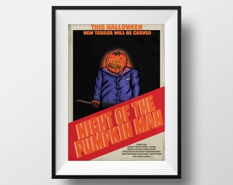 The Night of the Pumpkin Man film Poster