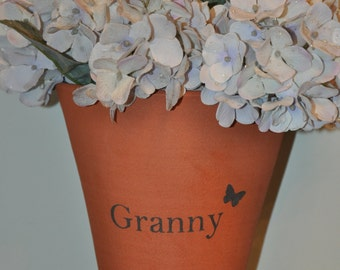 Terracotta Flower Pot - Granny