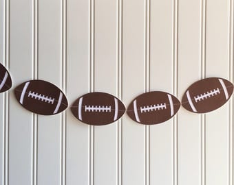 Football banner, photography backdrop, kids room decor, playroom decor, football birthday decor, photo accessories, football decor, football