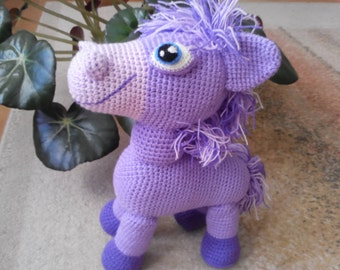 knit pony toy, knitted animals, Crochet pony, Crochet animals, knit donkey, knitted donkey toy, knit horse, knitted horse, knitted amigurumi