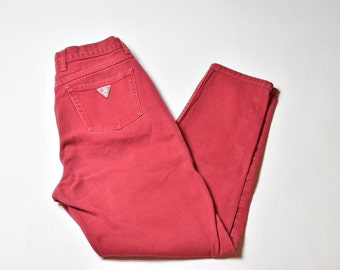 Vintage Red Guess Jeans