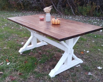 Farm House Table, Farm Table, Dine Table, Trestle Table