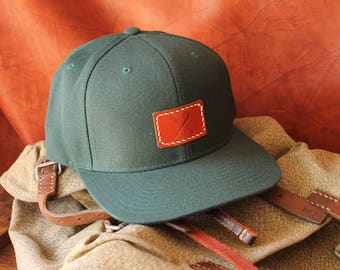 Das Offene Meer Leather Co. Snapback Hat