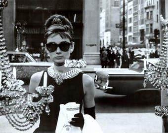 Audrey Hepburn Breakfast At Tiffany's Poster 36x24