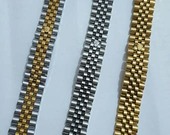 20mm Rolex stainless steel jubilee bracelet for a Rolex date just 116233 watches