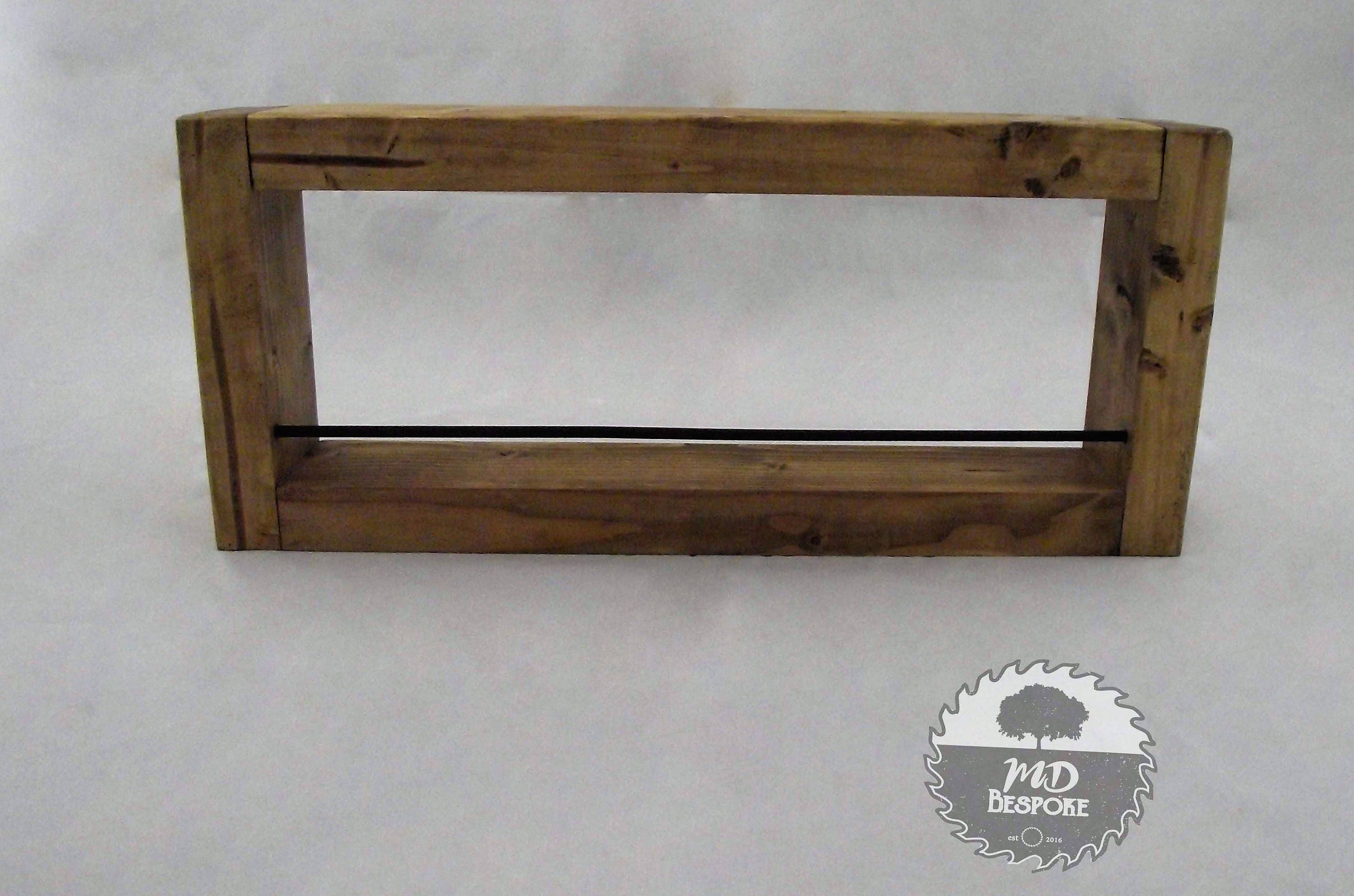 Kitchen Spice Rack Wooden Spice Rack Kitchen Storage Shelf Holder Rustic