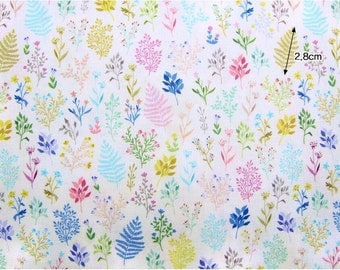 """Country Herbs Pattern Series 20s Cotton Fabric - 44""""x35"""" - Digital Printing - 1 Cut"""