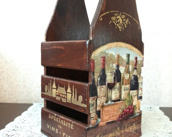 Короб для вина, шампанского   Basket for wine, champagne