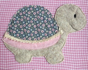 Turtle Doodle embroidery file