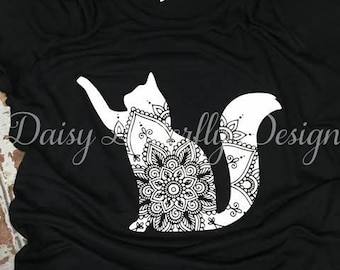Cat Mandala Shirt