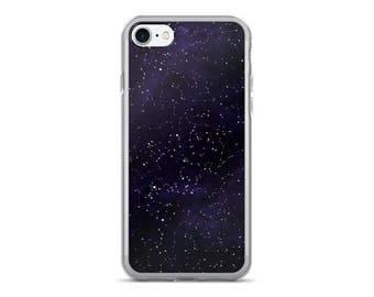 Cosmic Transparent Constellations • iPhone 7 & 7 Plus Case