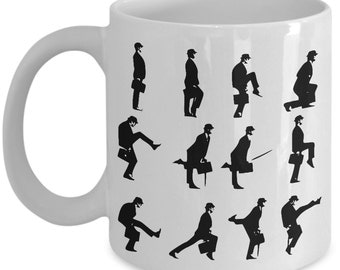 Monty Python Coffee Mug - Flying Circus - Ministry of Silly Walks