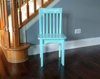 Time Out Chair, Kids Chair, Timeout Stool, Toddler Chair, Calm Down Chair, Kids Furniture, Take A Rest, Personalized Chair