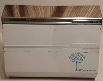 Vintage Lincoln Beauty Ware Foil, Waxed Paper, and Paper Dispenser