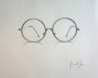 Harry Potter Glasses- Pencil Drawing