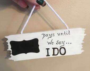 "Countdown to ""I Do"""
