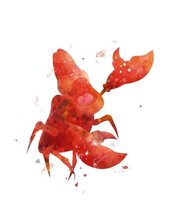 Sebastian Print Sebastian die KrabbeKunst kleine