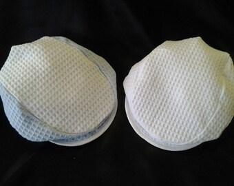 Cotton Waffle Flat Cap