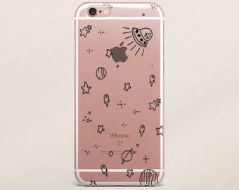 iPhone Cover Rocket iPhone 7 Case iPhone 6 Case Samgung Galaxy S6 Samsung Note 5 iPhone 5s Case iPhone 7 Cover iPhone 7 Plus Cover Space
