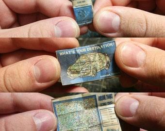 Custom Miniature Road Map
