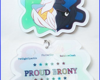 Proud Brony Keychain - Renciel
