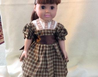 "18"" doll (Am Girl) 1800 civil war outfit"
