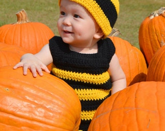 Bumble bee beanie hat