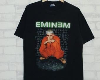 Rare!! Eminem The Criminal 2000 Tour Tshirt / Rap / Rapper / Hip Hop