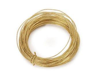 Bowdabra Bow Wire, Gold, 50 feet