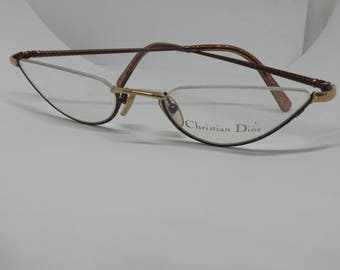CHRISTIAN DIOR EYEWEAR eyeglasses made in austria 80 years perfect for reading