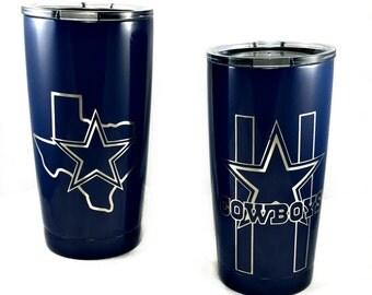 Dallas Cowboys Yeti Etsy