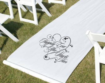 Happily Ever After Aisle Runner