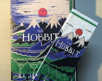 The Hobbit Cross Stitch Bookmark