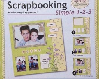 Scrapbooking Paper Boutique Scrapbooking Simple 1-2-3 * Spring