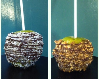 Candied Apples (Vegan, All Natural, and Organic) (Walnut or Coconut)