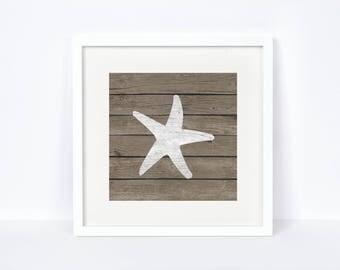 Wood Lake House Decor - Rustic Bathroom Decorations - Nautical Nursery - Bathroom Wall Art - Baby Room Nautical Print - Digital Download