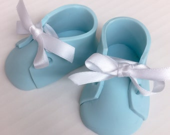 Baby Booties Cake Topper