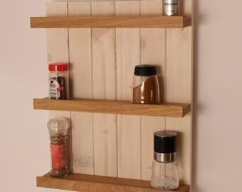 HolzKaspero Spice rack oak