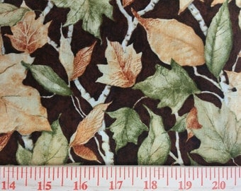 Leaves Nature Fabric By The Yard