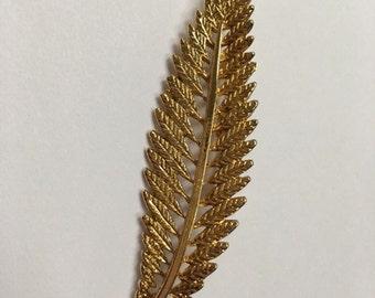 Golden leaf pin brooch/ leaf jewelry/pretty pin brooch/ fashion brooch pin/ fashion jewelry