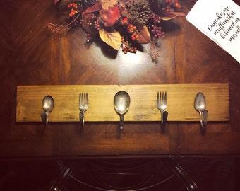 Vintage Silverware Hooks