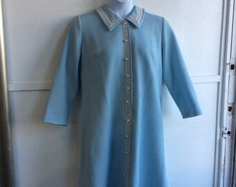 Sparkly Blue Sweater Dress