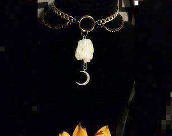Crystal Moon Choker*SALE*