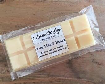 Oats, Milk & Honey Soy Wax Melt Bar Handmade