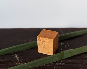 Carrot, Paprika & Turmeric Soap | Handmade Soap, Natural Ingredients, Cold Process Soap, Bar Soap, Organic Herbs, Natural Essential Oils