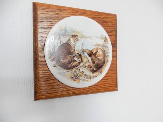 lontre pittura su ceramica piastrelle di ceramica struttura - Pittura Su Piastrelle Di Ceramica