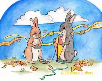 Patrick the Rabbit, Awareness Critters