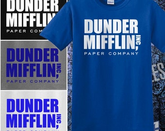 Dunder Mifflin Inc Paper Company Shirt - The Office