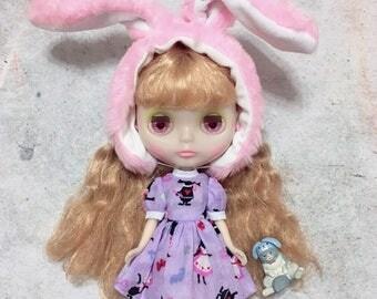 Blythe Doll Dress * March Hare's Tea Time*