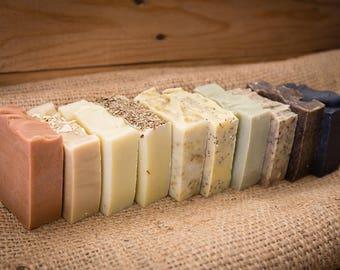 OUTLET - Bean&Boy Handmade Soap - 100% Natural Vegan Cold Process Soap Bars 100g